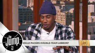 Iman Shumpert: The Pacers definitely shouldn't double-team LeBron James | The Jump | ESPN