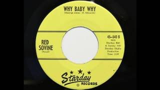 Red Sovine - Why Baby Why (Starday 540) YouTube Videos
