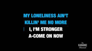 "Stronger in the Style of ""Britney Spears"" karaoke video with lyrics (no lead vocal)"