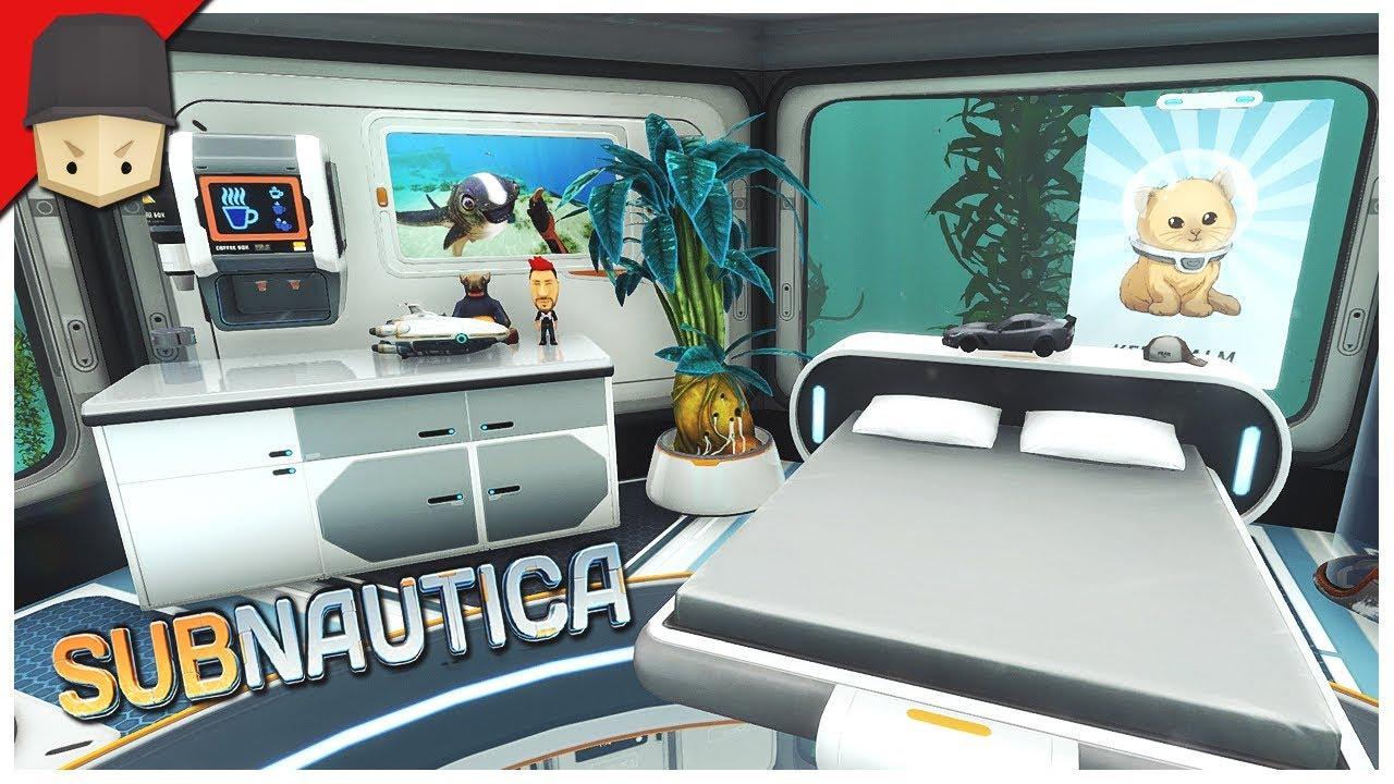 Subnautica interior design! : ep.14 subnautica full release