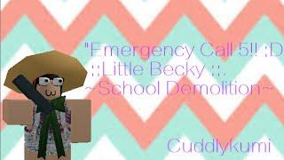 Emergency Call 5!! :D