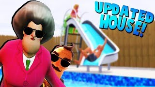 HELLO NEIGHBOR'S SISTER IS BACK WITH A UPDATED HOUSE!? | Hello Neighbor Mobile Game Rip Off