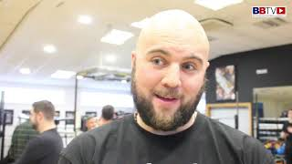 NATHAN GORMAN: TALKS BEST HE'S SPARRED, TYSON, DUBOIS, NEXT OUTING DEC 22ND