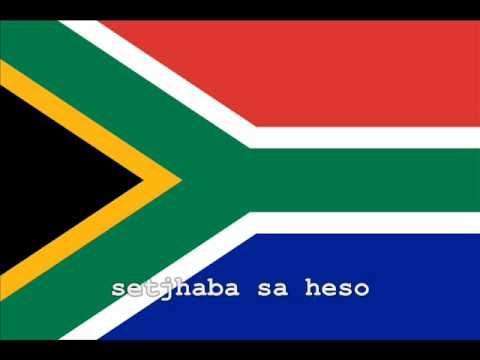 National Anthem of South Africa Instrumental with lyrics