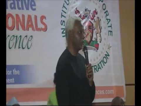 Speech By ICPC Chairman at Administrative Professionals Conference 2016
