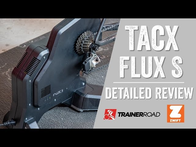 Tacx Flux S Review: Unboxing, Setup, Accuracy, Sound, and more!