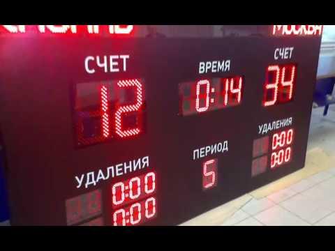 Спортивное табло ITLINE для хоккея SPORT HM-m-2-in