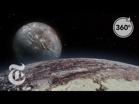 Seeking Pluto's Frigid Heart | 360 VR Video | The New York Times