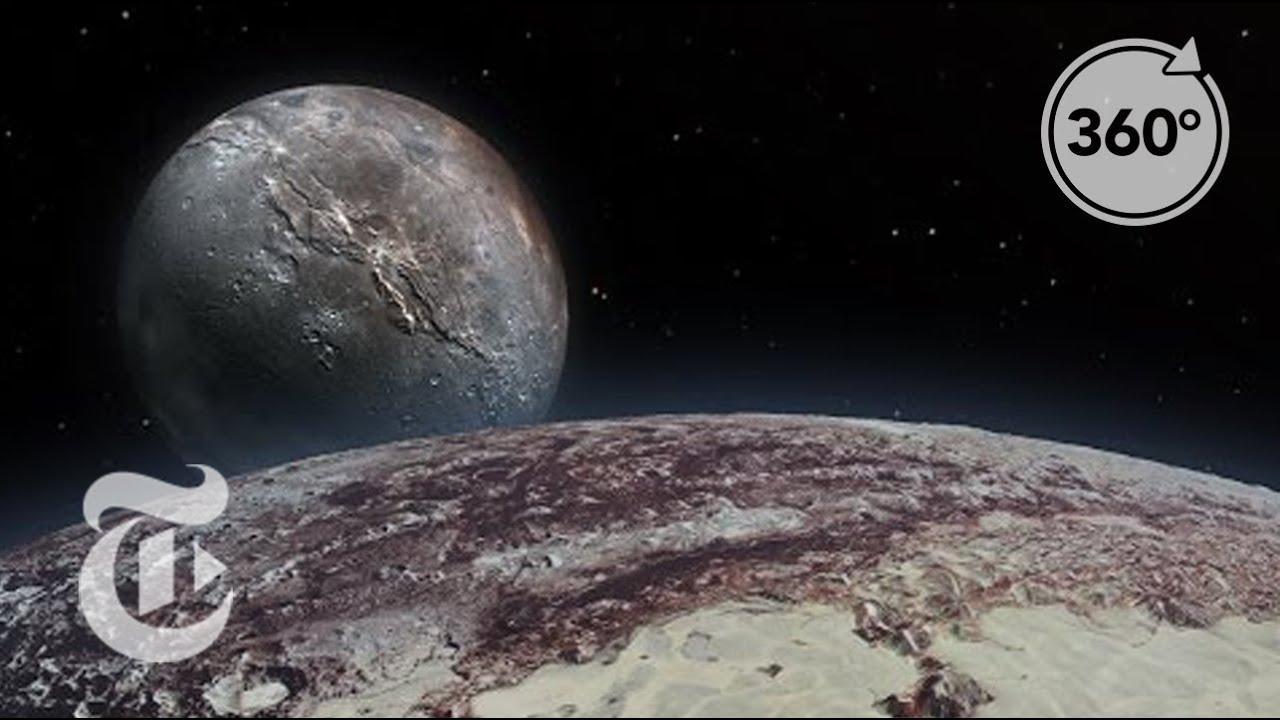 Seeking Pluto's Frigid Heart | 360 VR Video | The New York Times