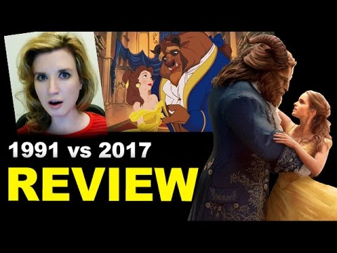 Beauty and the Beast Movie Review 2017 vs 1991
