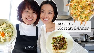 Cooking A Korean Feast  🇰🇷6 Easy Recipes