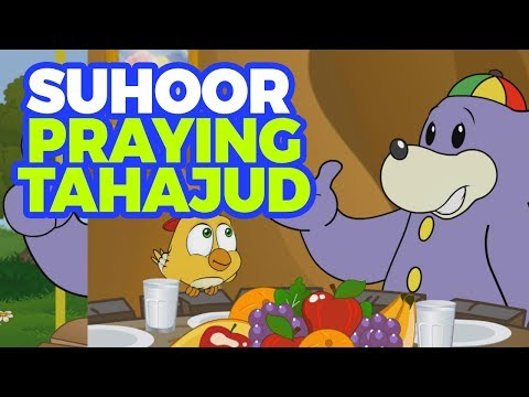 Zaky's Ramadan - Suhoor & Tahajjud  (Islamic Cartoon)