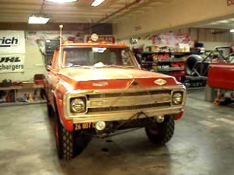 Don Hall Chevrolet >> Vic Hickey Steve McQueen race truck - YouTube