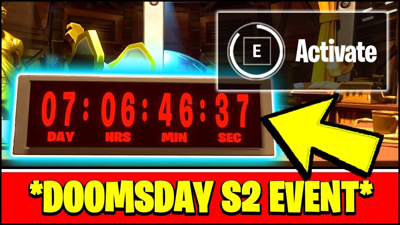 New Fortnite Season 2 Countdown Event Doomsday Event Stage 1