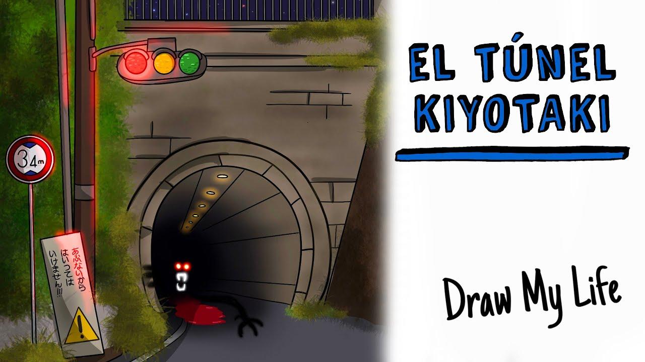 KIYOTAKI, La Leyenda Japonesa del túnel maldito 🚧 Draw My Life Terror