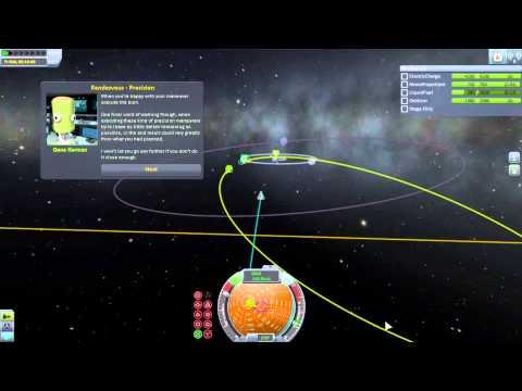 Kerbal Space Program #8 - Training - Asteroid Redirct Mission, Part 1 (1080p 60fps)