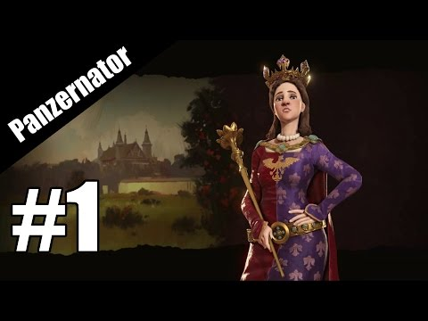 Poland Can Into Space? Civilization VI Poland gameplay - episode 1  