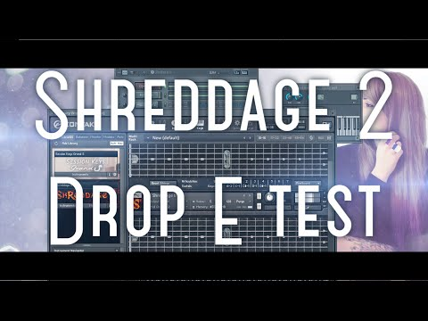 Shreddage 2 Drop E test