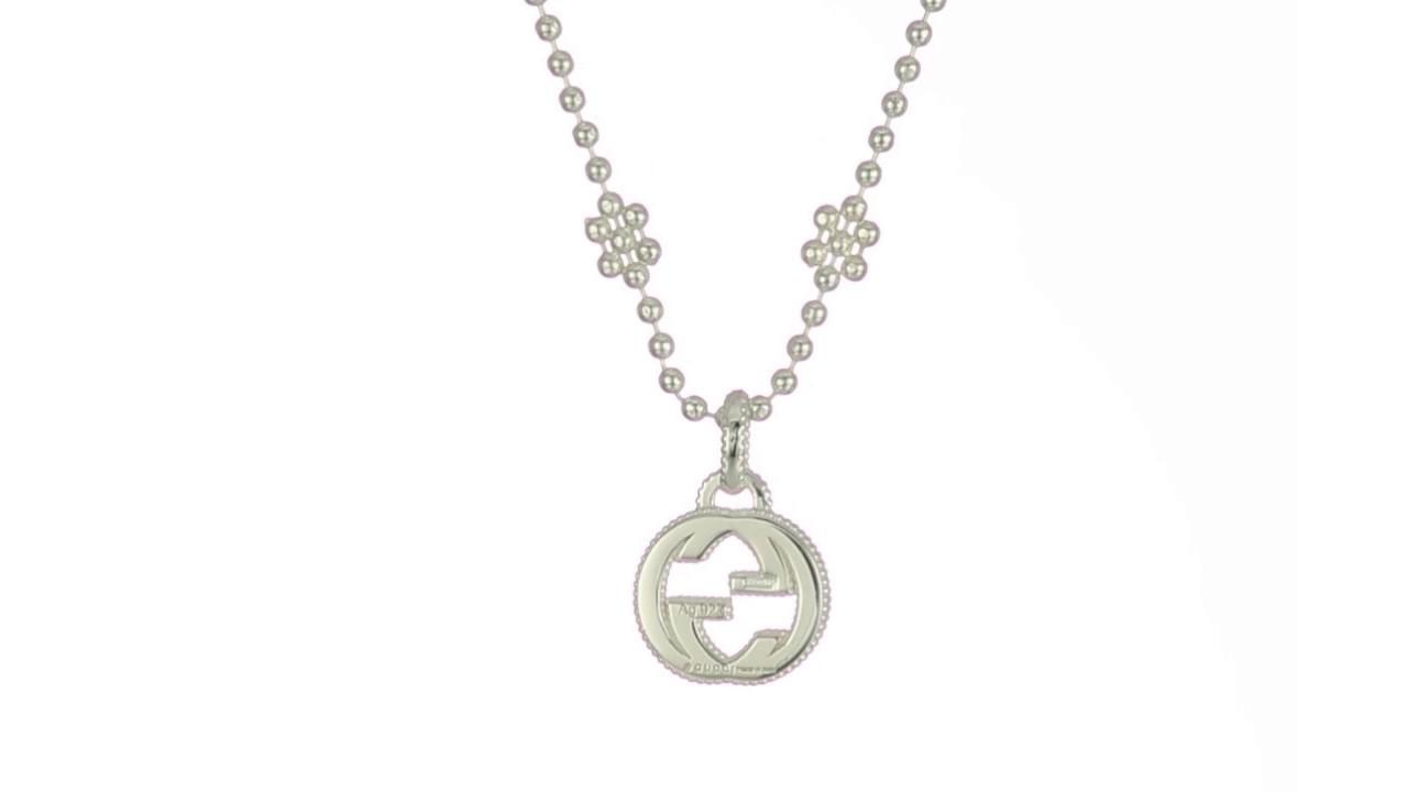 b3e432bae Gucci - 40cm Interlocking G Necklace SKU:8947364 - YouTube