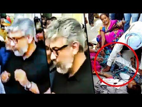 Ajith's Immediate Reaction to Tragic Death at Viswasam Sets