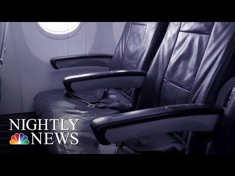 Man Arrested For Alleged Sexual Assault On Female Airplane Passenger | NBC Nightly News