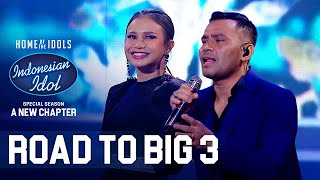 Download JUDIKA X ROSSA - AKU YANG TERSAKITI X HATI YANG KAU SAKITI - ROAD TO BIG 3 - Indonesian Idol 2021