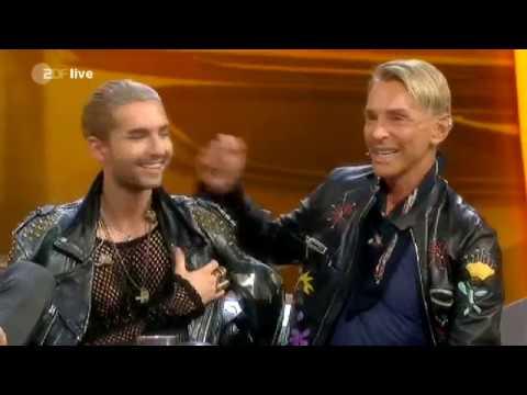 Wetten, daß..? Oktober 2014: Tokio Hotel ('Love who loves you Back'), Wolfgang Joop u.a. aus Erfurt