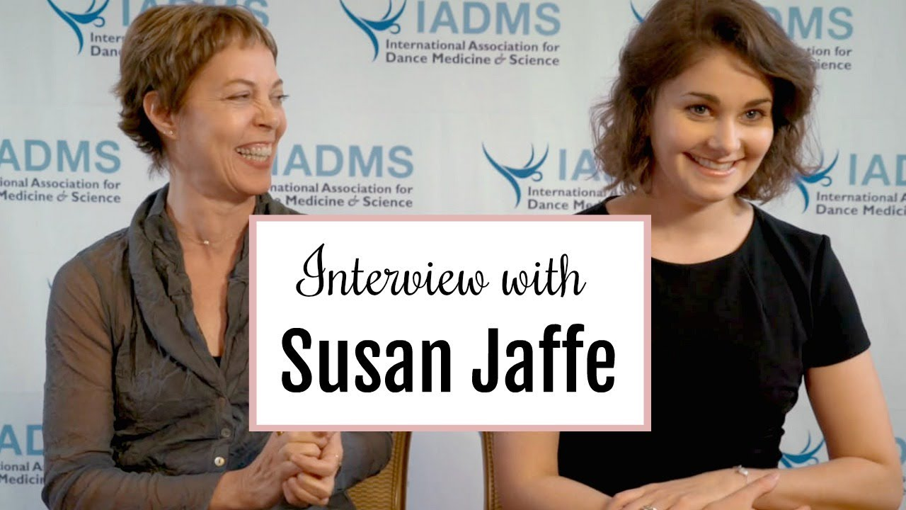 56cd060f1381a Interview with Susan Jaffe + NEW Dance Products - IADMS Conference    Kathryn Morgan