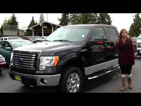 Virtual Walk Around Video of a 2010 Ford F 150 XLT XTR 4x4 at Titus Will Ford in Tacoma, WA x7423