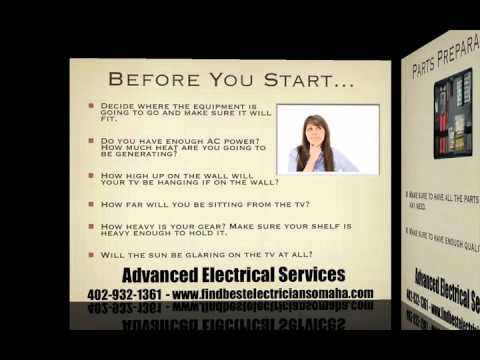 Omaha Electrician Teaches Home Theater Installation Tips