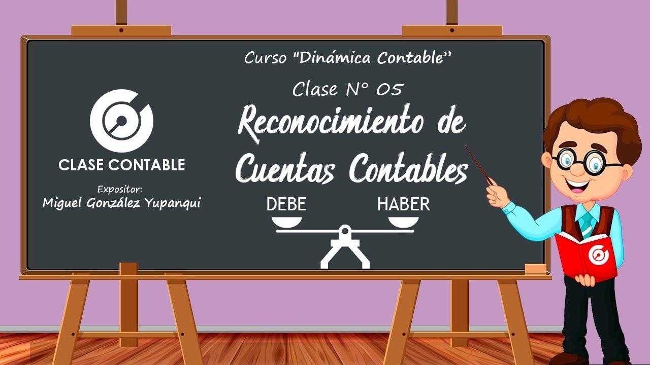 Reconocimiento de Cuentas Contables | Curso Dinámica Contable - Clase 5 (Parte 2)