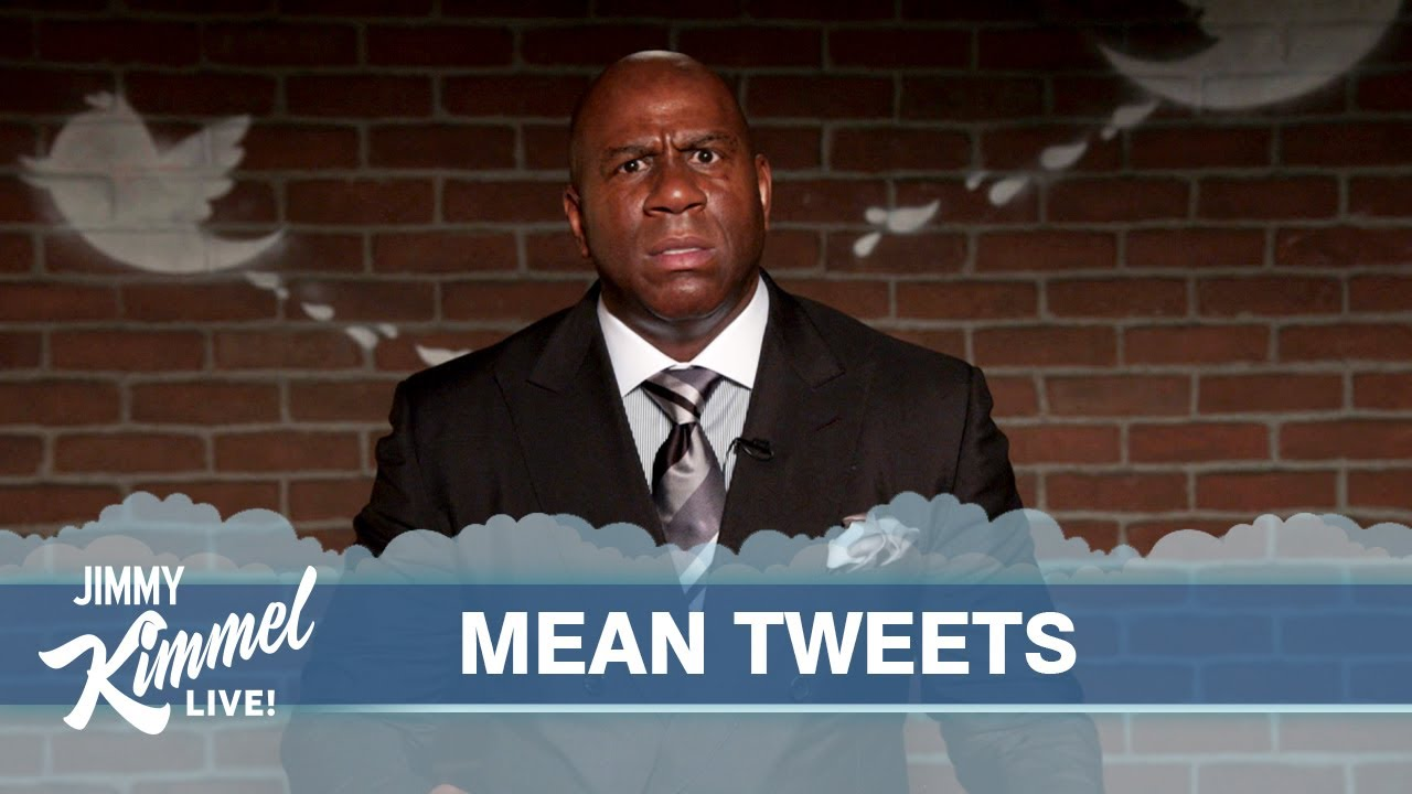 Celebrities Read Mean Tweets Nba