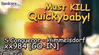 "WOT: ""Killing Quickybaby"" caught on Himmelsdorf, Super Conqueror, xx984 [GO-IN], WORLD OF TANKS"