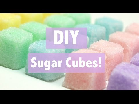 DIY Sugar Cubes!