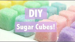 DIY Sugar Cubes!