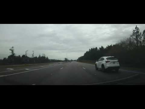 Driving through Haines City, Florida on US 27