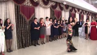 Зажигательные адыгэ танцы на свадьбе.Мальчик взорвал зал под чеченский (наша работа)