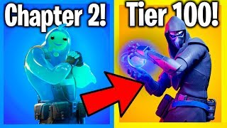 RANKING ALL CHAPTER 2 FORTNITE SKINS FROM WORST TO BEST (Season 1 Battle Pass Cosmetics)