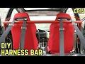 DIY HARNESS BAR! : BMW E36 325i Drift Build Ep.15