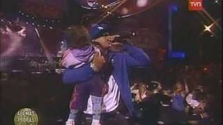 daddy yankee ft Zion y Lennox - tu principe ( reggaeton live @ chile )