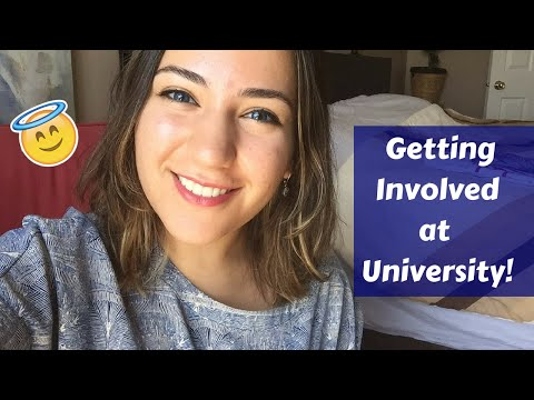 How to Get Involved at University