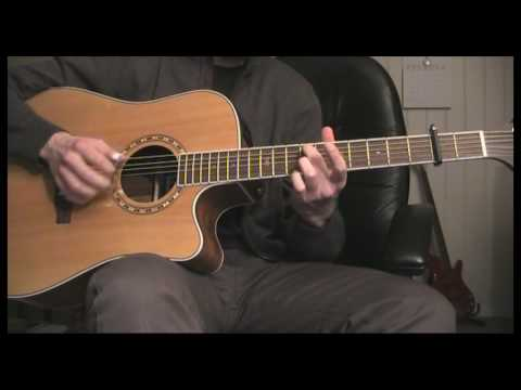 Acoustic jam in open G minor tuning (2/3)