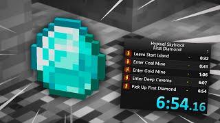The Hypixel Skyblock Speedrun!