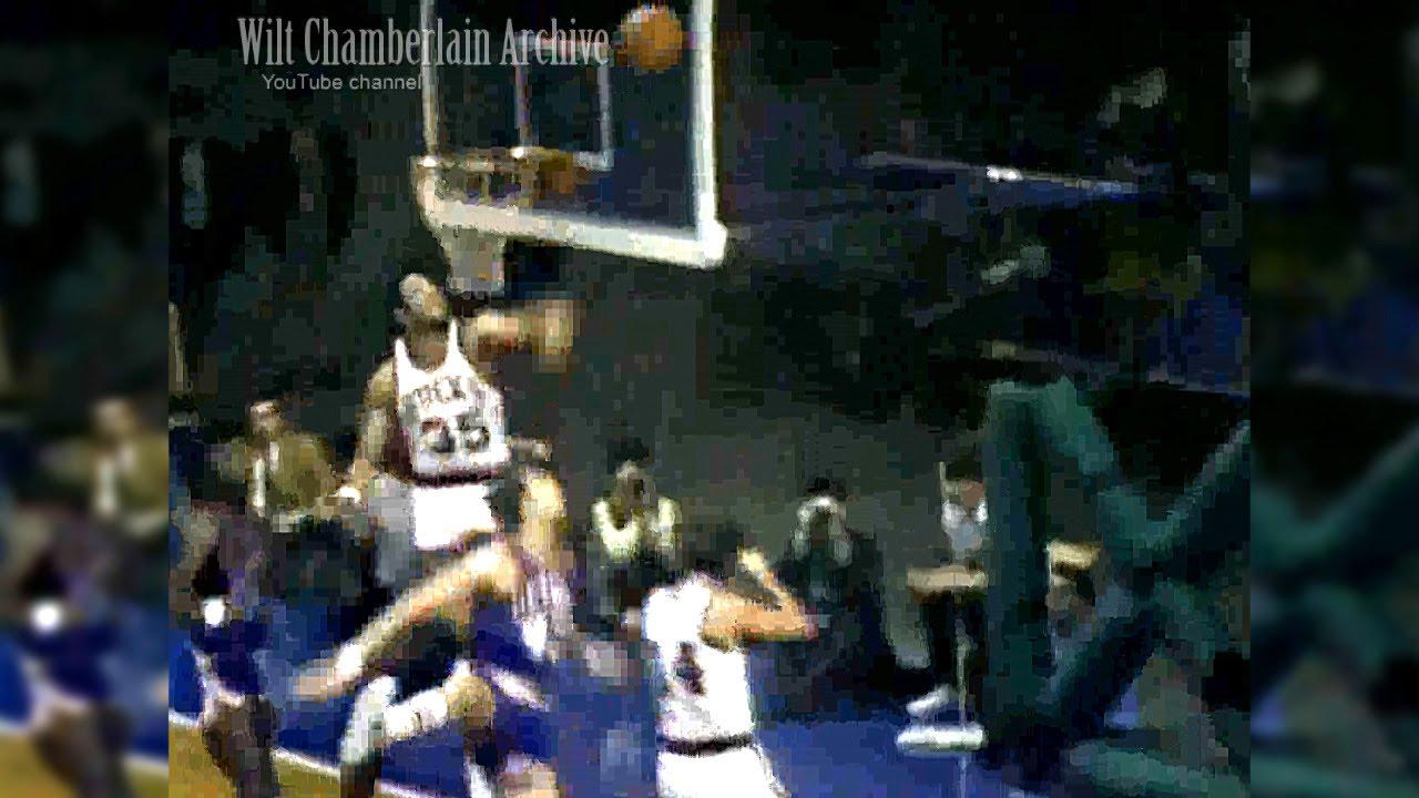 Zaid Abdul Aziz Don Smith Pistons at Bucks 10 18 1969 Full