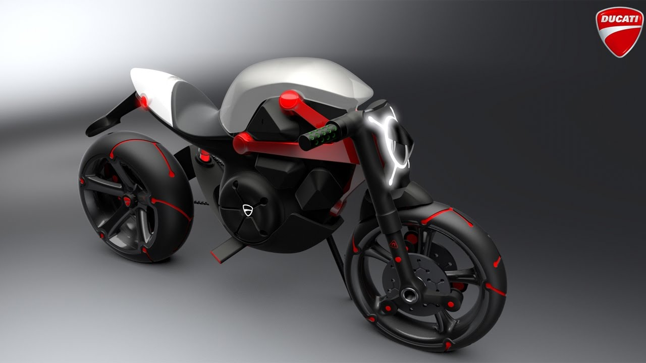 Ducati Monster Venom Electric Roadster Bike Youtube