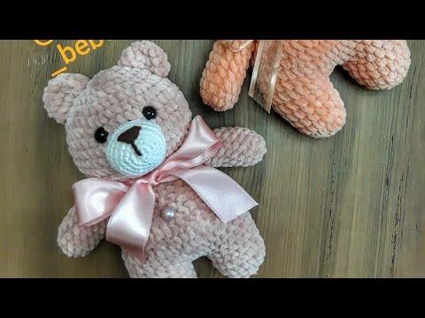 Amigurumi Pofuduk Ayıcık Yapımı – Crochet Bear Video Tutorial (1 ... | 360x480