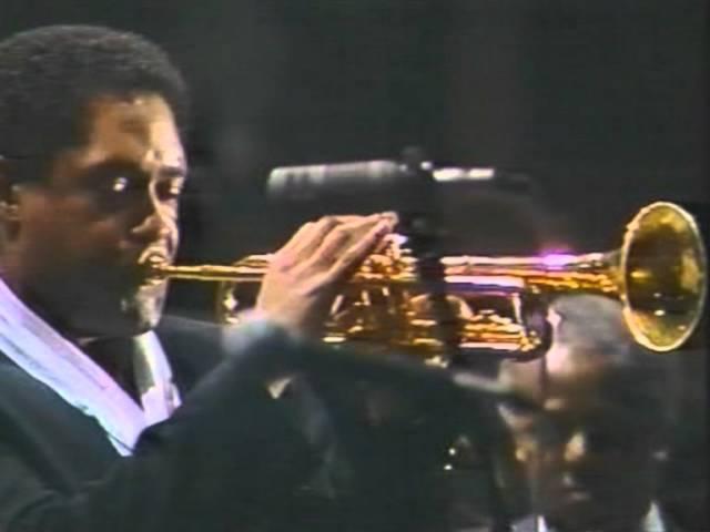 1987 Dizzy Gillespie | Jon Faddis, Arturo Sandoval, Slide Hampton, Johnny Griffin - Caravan