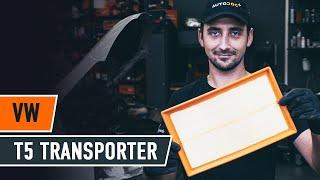 Cómo cambiar los filtro de aire en VW T5 TRANSPORTER Furgón [VÍDEO TUTORIAL DE AUTODOC]