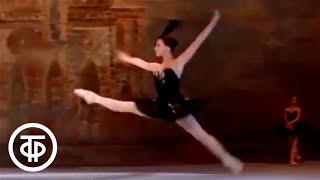 """Чайковский. Па де де из балета """"Лебединое озеро"""". Плисецкая и Ковтун. Swan Lake. Plisetskaya, Kovtun"""