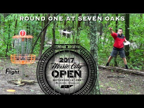 Music City Open 2017 Disc Golf Tournament Round 1